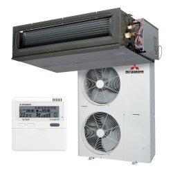 Канальный кондиционер Mitsubishi Heavy FDUM100VF2/FDC100VNX Hyper Inverter (Cредненапорный)