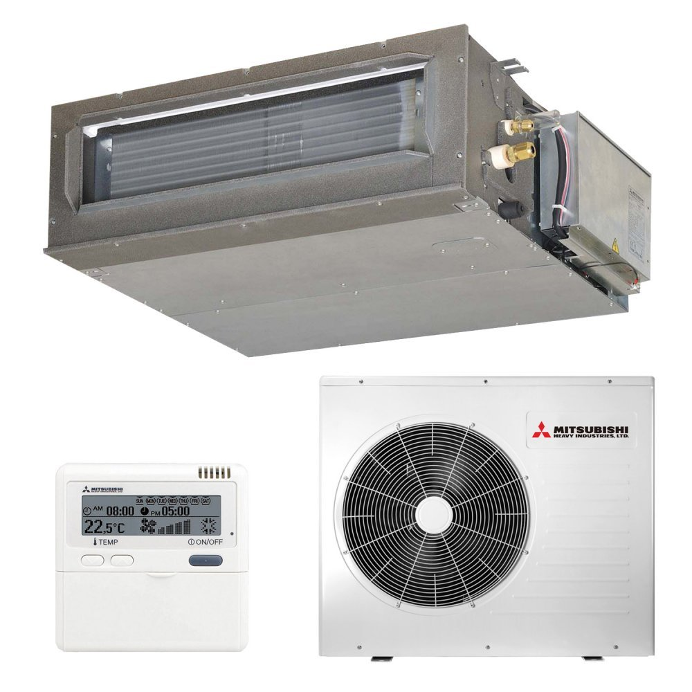 Канальный кондиционер Mitsubishi Heavy FDUM100VF2/FDC100VN Micro Inverter (Cредненапорный)
